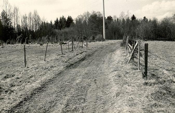 Maa-alune kalmistu - põhjast. Foto: E. Väljal, 1980ndad aastad.