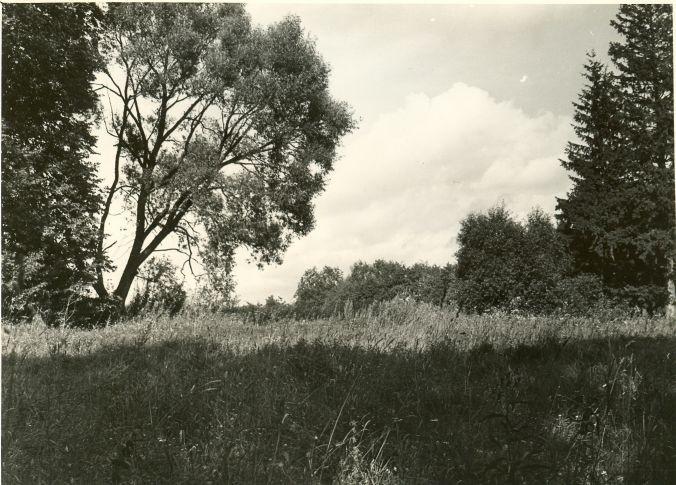 Maa-alune kalmistu. Foto: A. Sillasoo, 23.08.1976.