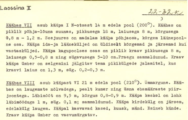 pass - 3 (Täielik pass on mälestis nr 11101 juures.)