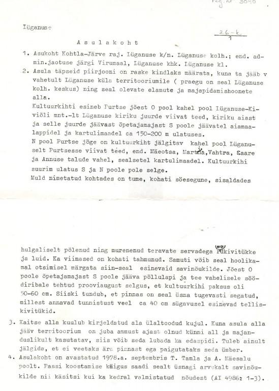 pass 1  Autor T. Tamla  Kuupäev 01.09.1978