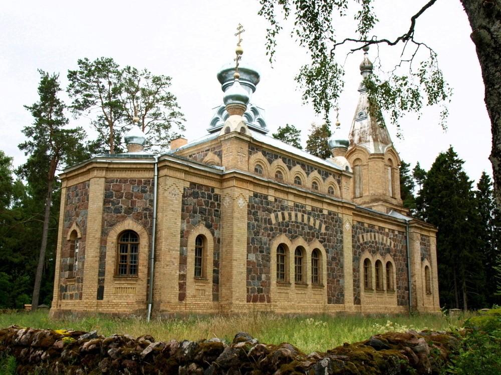 Kuriste õigeusu kirik, vaade kirdest Autor Maarika Leis-Aste Kuupäev 4.07.2012