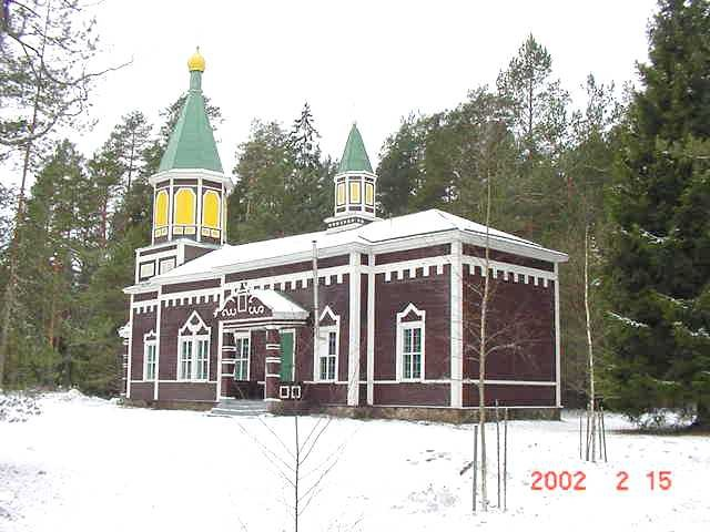 Mõniste-Ritsiku kirik. 15.02.2002