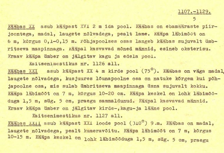 Pass – 5 (Täielik pass on mälestis nr 11321 juures.)