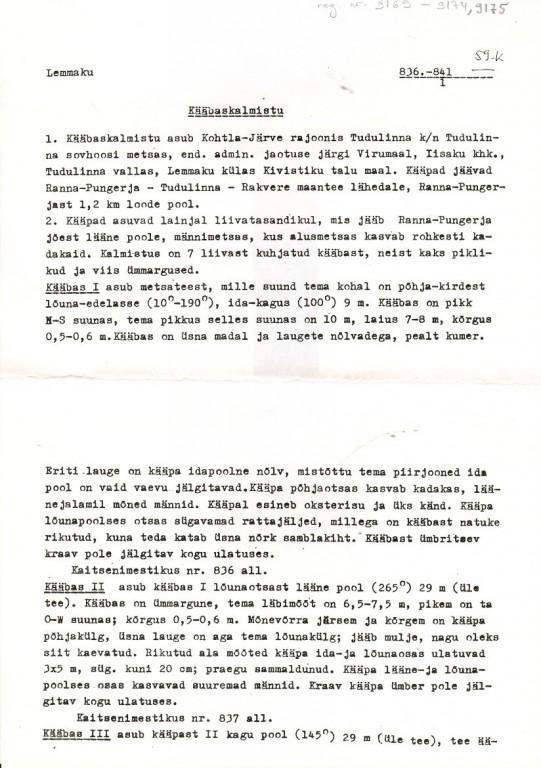 Pass 1  Autor Aun  Kuupäev  01.09.1977