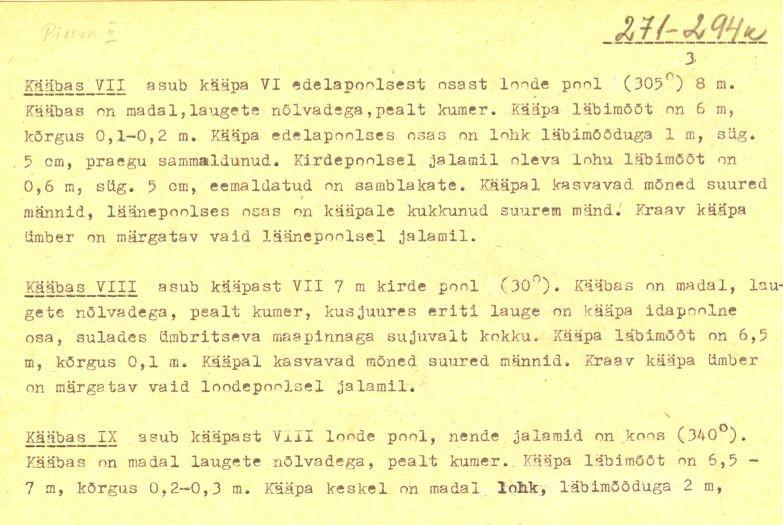 pass - 3 (Täielik pass on mälestis nr 11392 juures.)