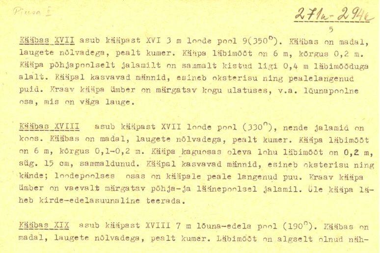 pass - 5 (Täielik pass on mälestis nr 11392 juures.)