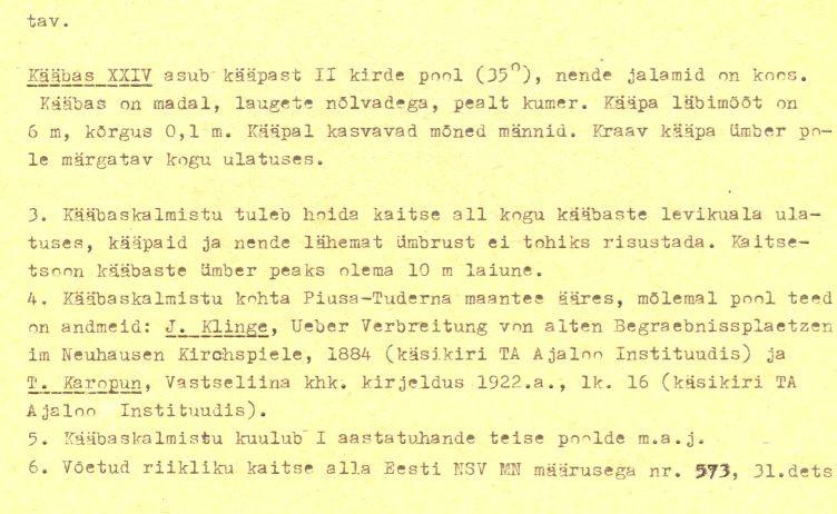 pass - 6-p (Täielik pass on mälestis nr 11392 juures.)