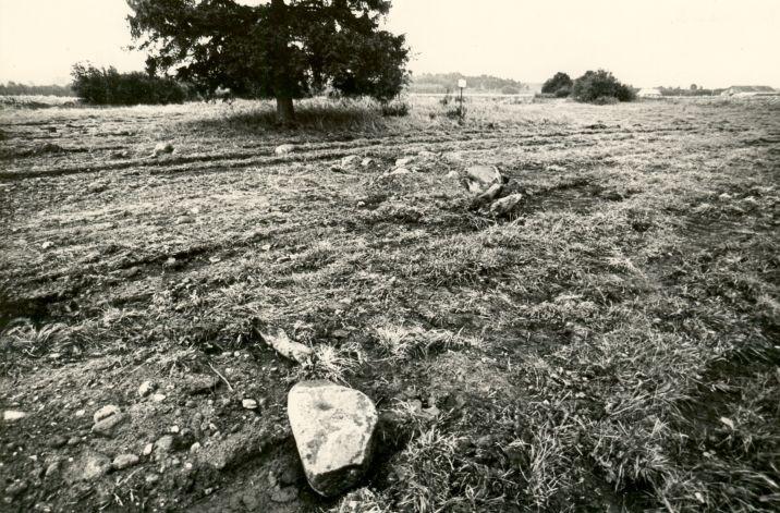 Kivikalme. Foto: M. Pakler, september 1979.