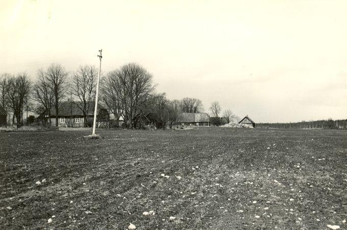 Asulakoht - lõunast. Foto: A.-M. Rõuk, 23.04.1981.