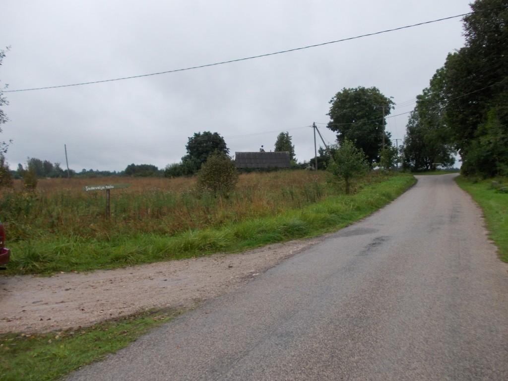 Vaade mälestise keskel lõuna suunas. Foto: Ulla Kadakas, 01.09.2012.