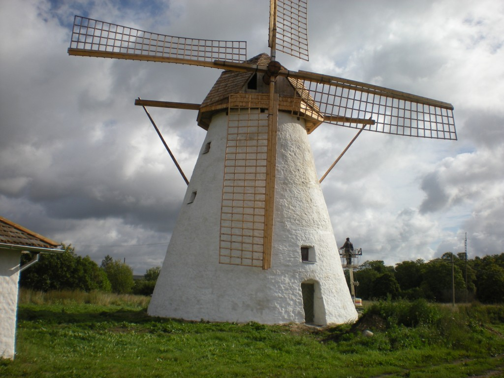 Ervita mõisa tuuleveski Tiit Schvede 05.09.2012