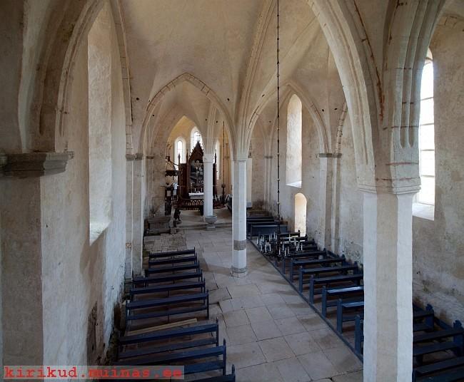 Kaarma kiriku sisevaade. Foto: EKA, 2010.
