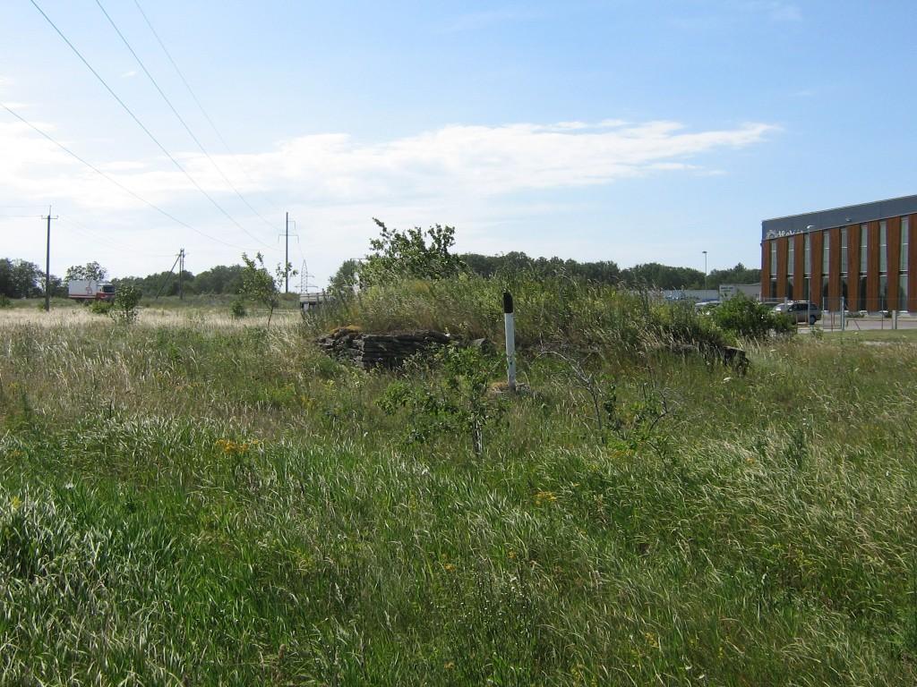 Vaade mälestisele idast. Foto: Ulla Kadakas, 05.07.2007.