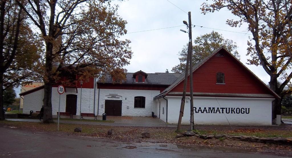 Kohila mõisa ait-kuivati vaade läänest. K. Klandorf 13.10.2011