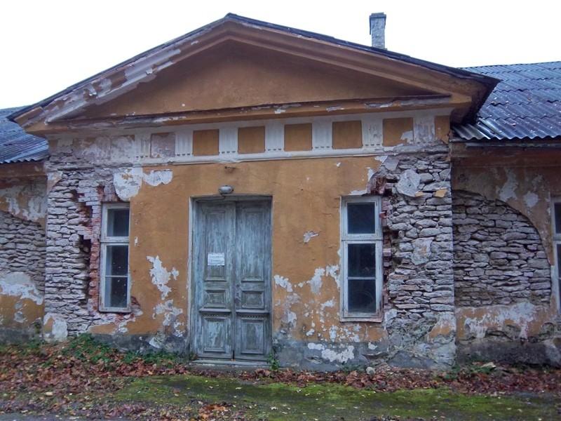Seli mõisa valitsejamaja fassaad. K. Klandorf 13.10.2011