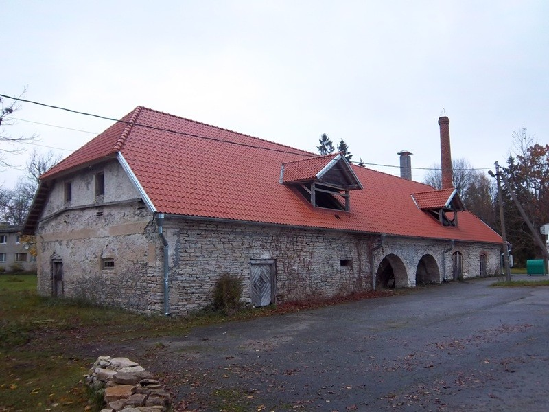 Teenuse mõisa ait-kuivati. K. Klandorf 25.10.2012