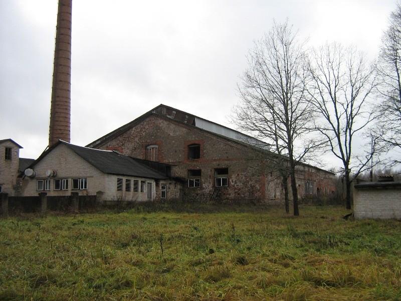 Meleski klaasivabrik Vaade tagant Foto 06.11.2012 Anne Kivi