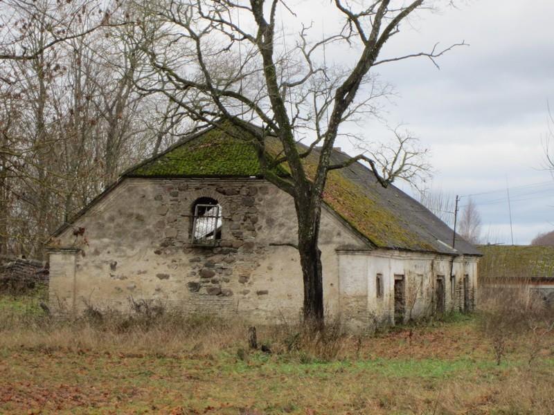 15667 Kihlevere mõisa ait, vaade idast Anne Kaldam 08.11.2012