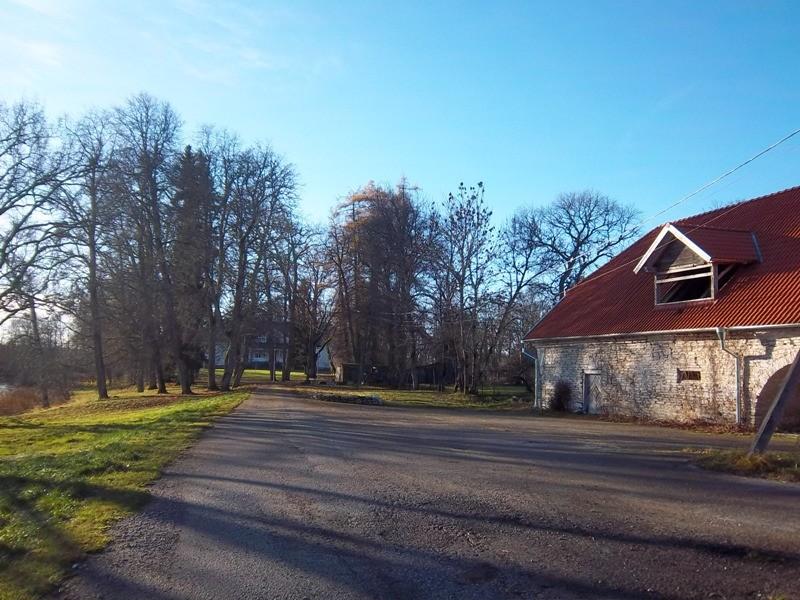 Teenuse mõisa park, vaade põhjasuunast. K. Klandorf 13.11.2012