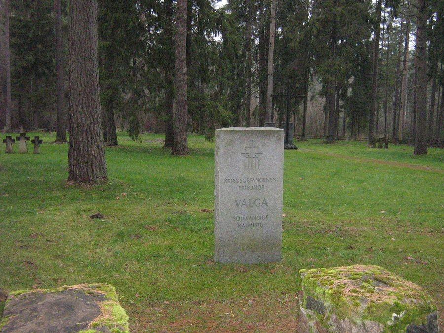 Valga vangilaagri kalmistu Foto autor M-L Paris 2012