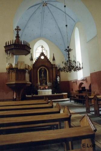 Vaade altarile. Foto: E. Loit