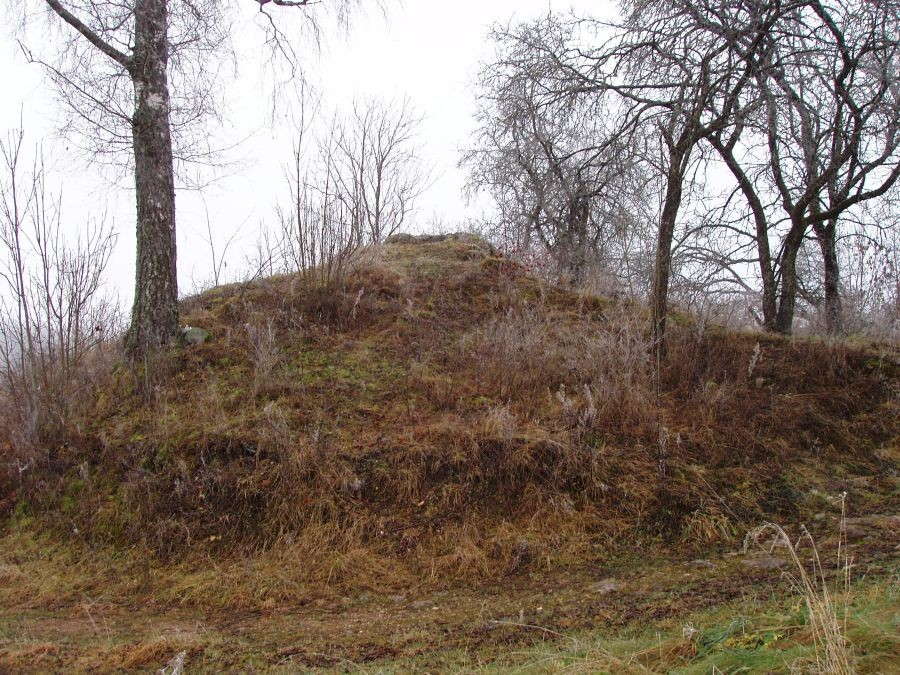 Kärkna kloostri nurgatorni varemed. Foto autor I. Raudvassar 27.11.2012.