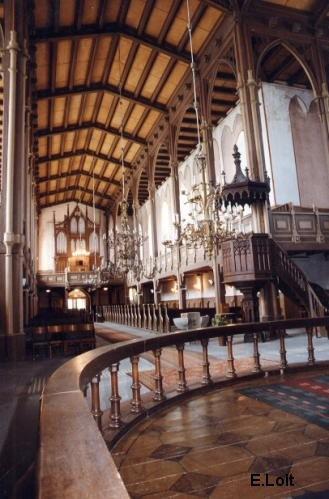 Pauluse kiriku sisevaade. Foto: E. Loit