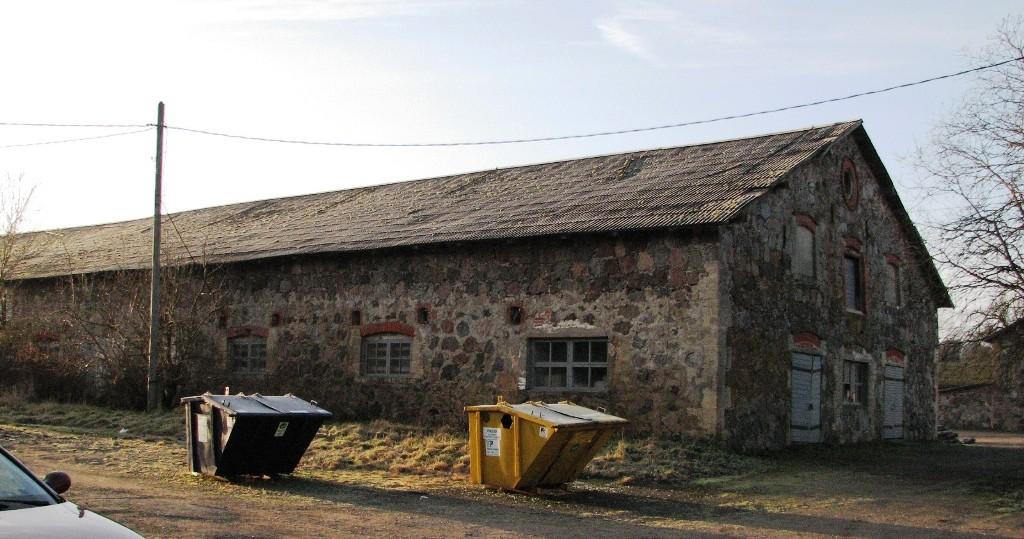 Jäneda mõisa härjatall 1 (15044), vaade põhjast. Foto: M.Abel, kuupäev 27.11.12