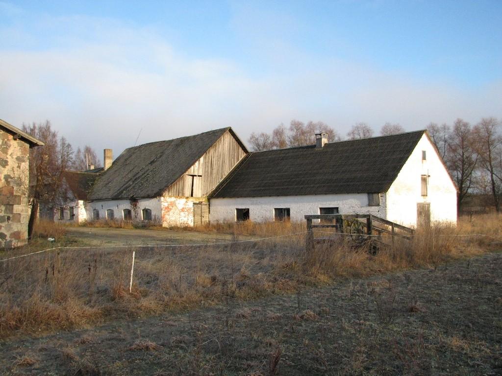 Jäneda mõisa karjalaut (15046), vaade lõunast. Foto: M.Abel, kuupäev 27.11.12