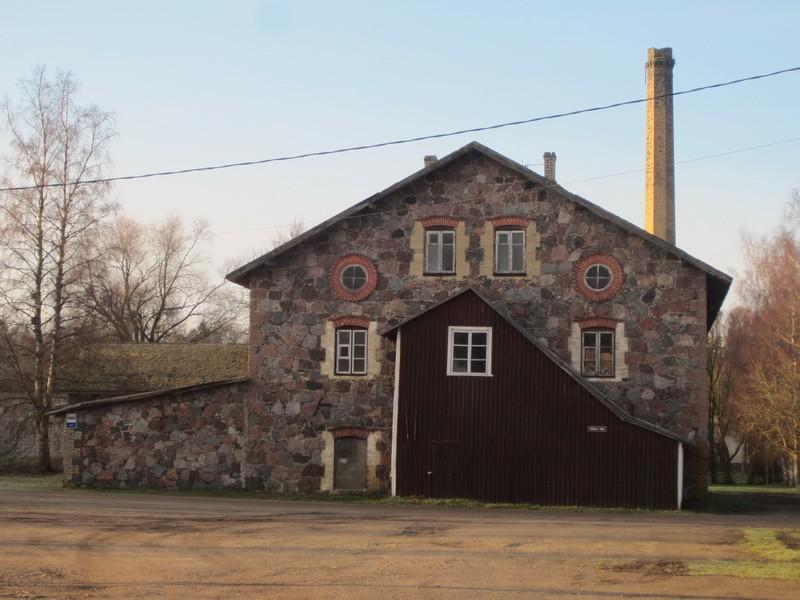 15041 Jäneda mõisa viinavabrik, vaade idast. 27.11.2012 Anne Kaldam