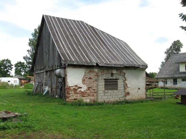 Vana-Antsla mõisa ait 2., 18 saj. II pool. Foto Tõnis Taavet, 01.08.2012.