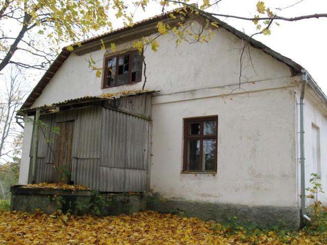 Rõuge pastoraadi peahoone, 1842. Foto Tõnis Taavet, 10.10.2012.