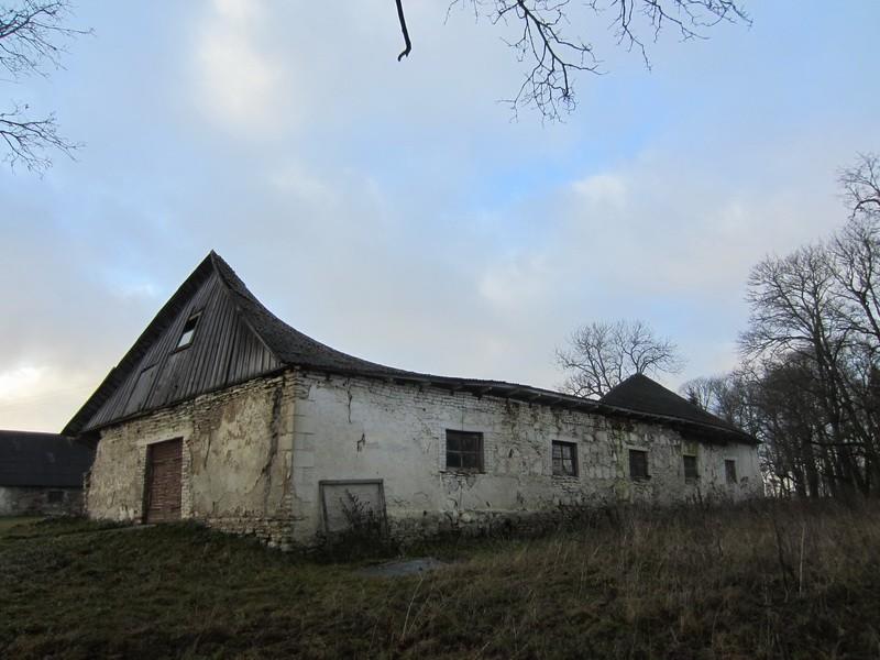 15674 Neeruti mõisa sõiduhobuste tall, vaade idast. 27.11.2012 Anne Kaldam