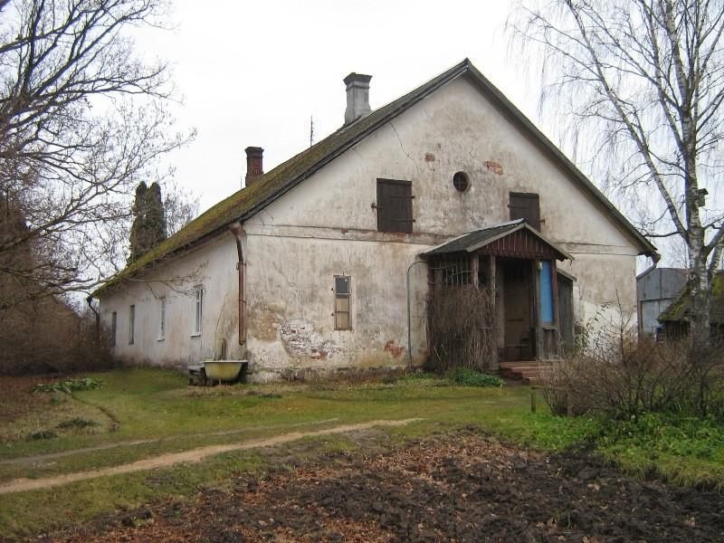 Vaade Polli mõisa moonakatemajale läänest Foto Anne Kivi 21.11.2012
