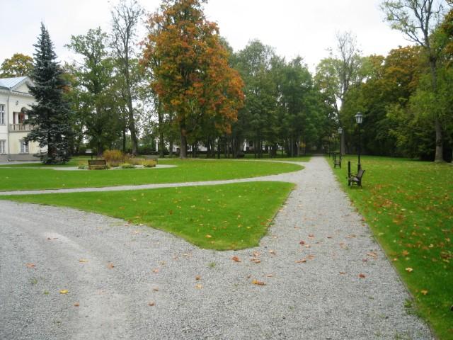Vihterpalu mõisa park  Autor Peeter Nork  Kuupäev  20.09.2007