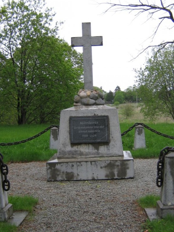 Vabadussõja mälestussammas, reg. nr 27125. Foto: I.Raudvassar, kuupäev 01.06.2006