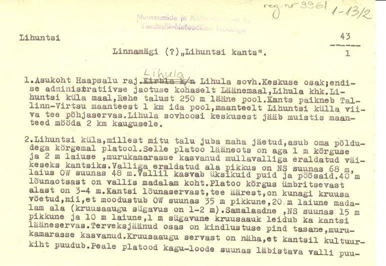 Pass 1  Autor M. Mandel  Kuupäev 01.07.1974