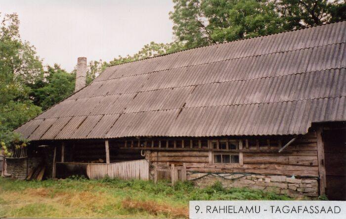 Laasu talu rehielamu. Foto: Mõisaprojekt OÜ. 2004.