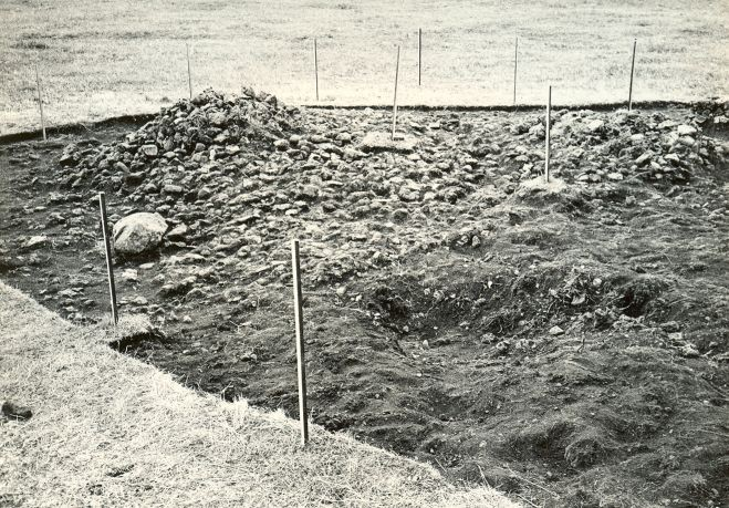 Kivikalme - loodest. Foto: E. Väljal, 21.07.1983.