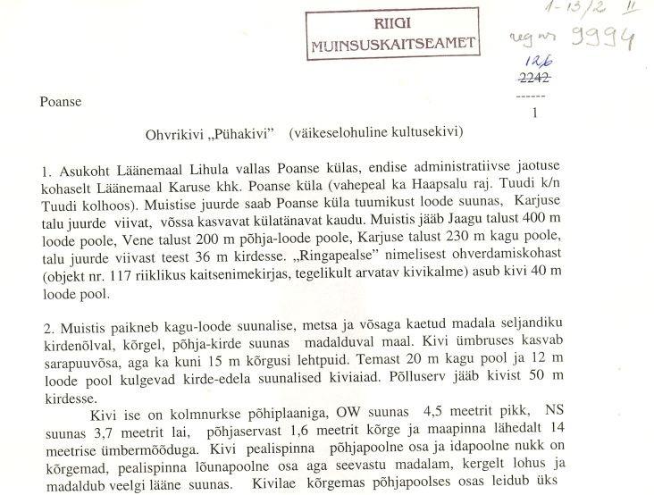 Pass 1  Autor M. Mandel  Kuupäev 01.07.1996