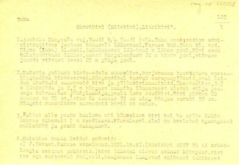Pass 1  Autor M. Mandel  Kuupäev 01.05.1975
