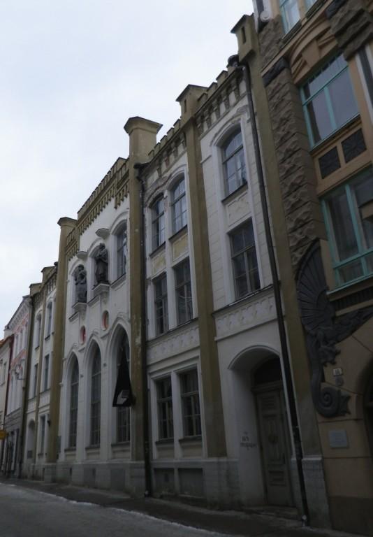 Tallinna Kanuti gildi hoone. Foto: Helen Kallaste, 04.02.2013