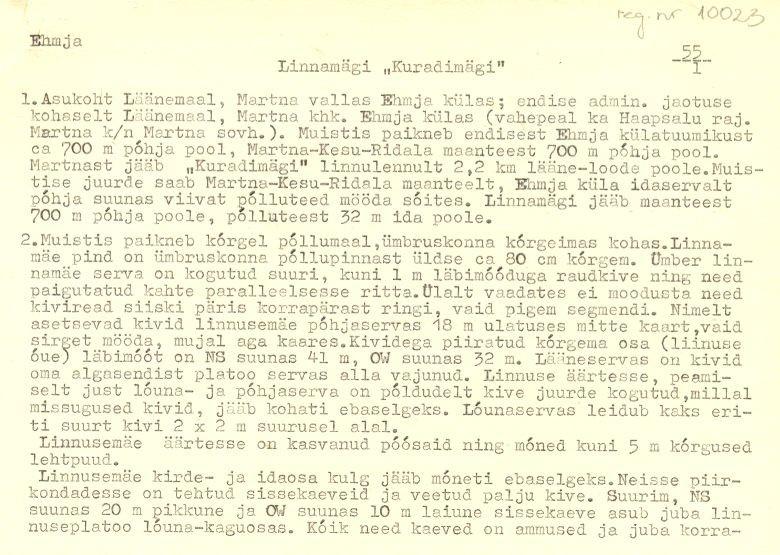 Pass 1  Autor M. Mandel  Kuupäev 01.09.1993
