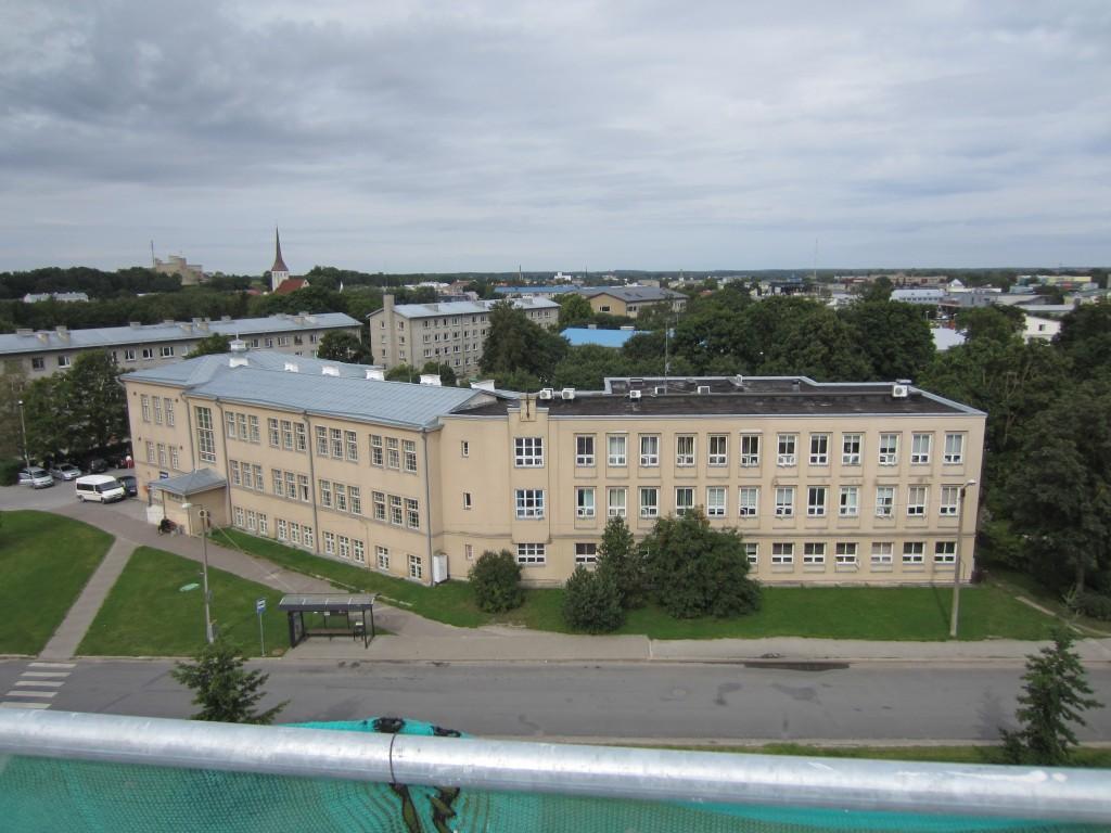 15737 Rakvere saksa eragümnaasiumi hoone, VAADE GÜMNAASIUMI KATUSELT 22.08.2012 Anne Kaldam