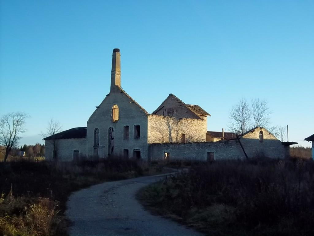 Kuusiku mõisa viinavabrik. Foto K. Klandorf 15.11.2011