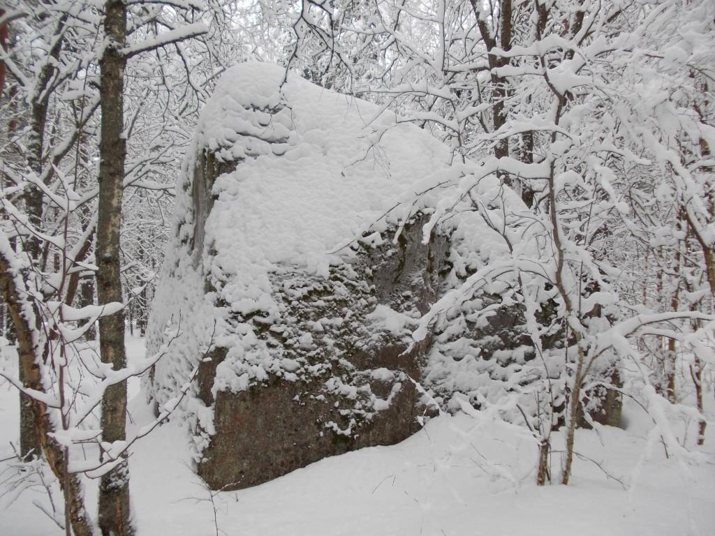 Aidakivi. Foto: Ulla Kadakas, 12.02.2013.