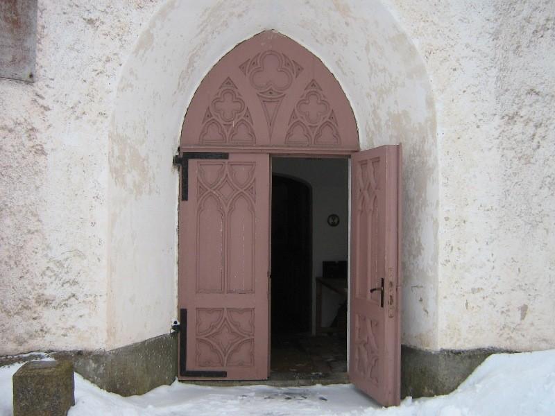 Kolga-Jaani kiriku peauks. Foto: Anne Kivi, 06.03.2012
