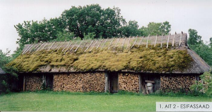 Käspri talu ait nr 2 (Koguva külas). Foto: Nele Rohtla (OÜ Mõisaprojekt) 2004