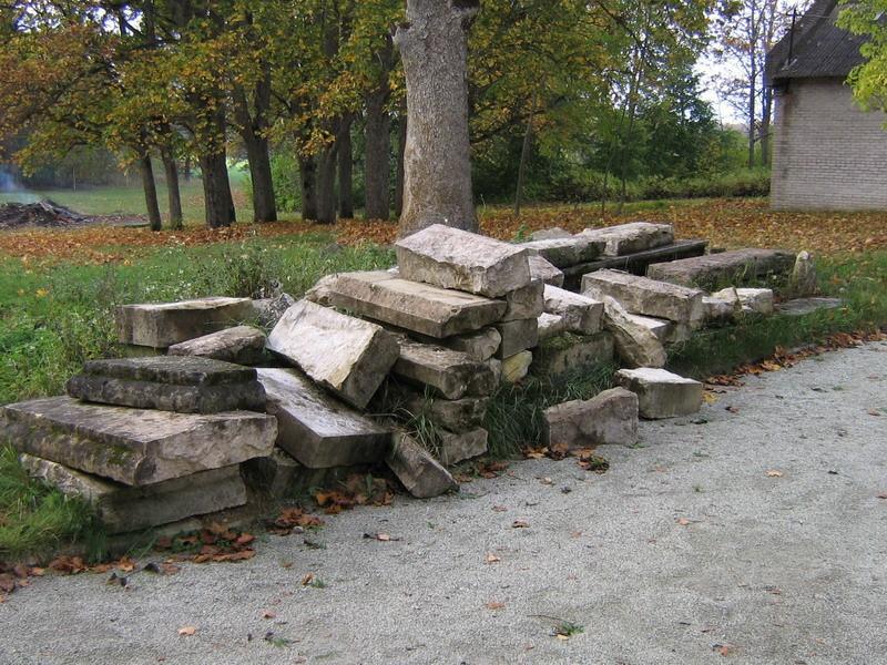 Inju mõisa park : 15978, vaade pargi põhjapoolsele osale, peahoone õuest  Autor Anne Kaldam  Kuupäev  01.10.2007