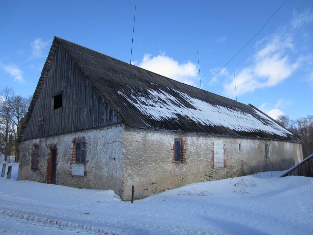 15678 Neeruti mõisa ait, vaade lõunast, pilt :Anne Kaldam, aeg: 07.03.2013